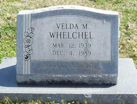 WHELCHEL, VELDA M. - Benton County, Arkansas | VELDA M. WHELCHEL - Arkansas Gravestone Photos