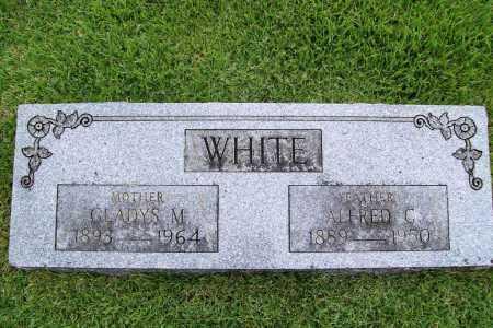 WHITE, ALFRED C. - Benton County, Arkansas | ALFRED C. WHITE - Arkansas Gravestone Photos