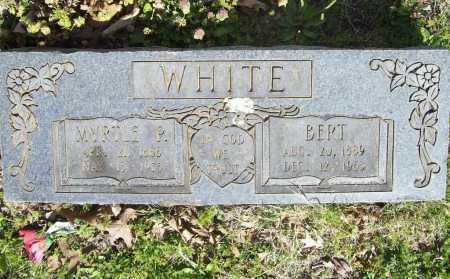 "PIERCE WHITE, MYRTLE ""EMMA"" - Benton County, Arkansas 
