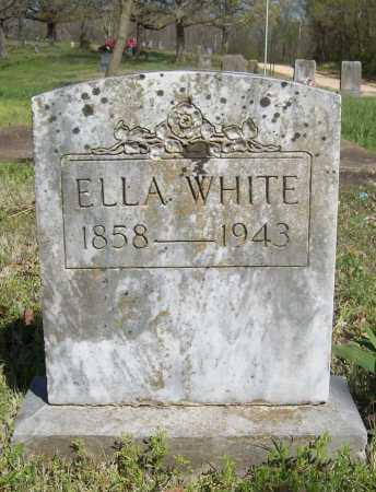 WHITE, ELLA - Benton County, Arkansas | ELLA WHITE - Arkansas Gravestone Photos