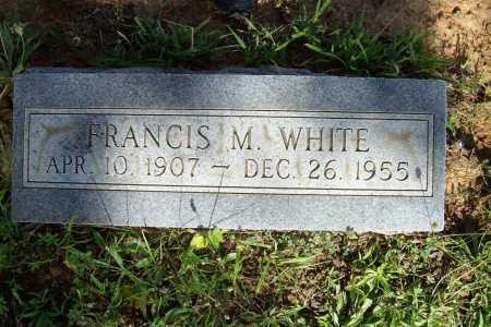 WHITE, FRANCIS M. - Benton County, Arkansas   FRANCIS M. WHITE - Arkansas Gravestone Photos