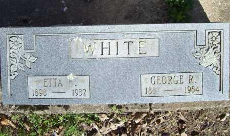 WHITE, ETTA E. - Benton County, Arkansas | ETTA E. WHITE - Arkansas Gravestone Photos