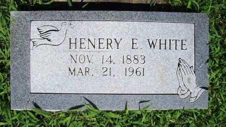 WHITE, HENERY E. - Benton County, Arkansas   HENERY E. WHITE - Arkansas Gravestone Photos