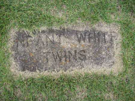 WHITE, INFANT TWINS - Benton County, Arkansas | INFANT TWINS WHITE - Arkansas Gravestone Photos