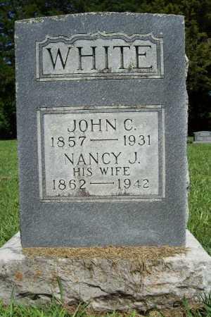 WHITE, JOHN C. - Benton County, Arkansas | JOHN C. WHITE - Arkansas Gravestone Photos