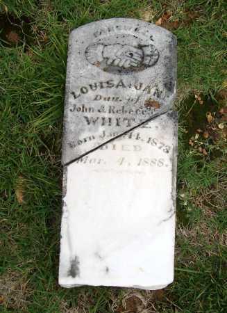 WHITE, LOUISA JANE - Benton County, Arkansas   LOUISA JANE WHITE - Arkansas Gravestone Photos