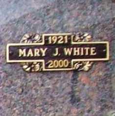 WHITE, MARY J. - Benton County, Arkansas | MARY J. WHITE - Arkansas Gravestone Photos