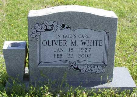 WHITE, OLIVER MUNDELL - Benton County, Arkansas | OLIVER MUNDELL WHITE - Arkansas Gravestone Photos
