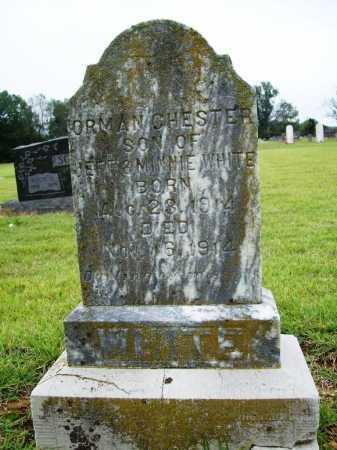 WHITE, ORMAN CHESTER - Benton County, Arkansas | ORMAN CHESTER WHITE - Arkansas Gravestone Photos