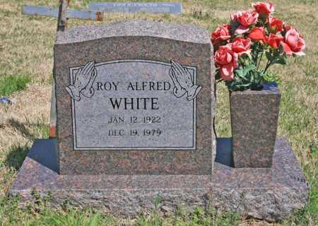 WHITE, ROY ALFRED - Benton County, Arkansas | ROY ALFRED WHITE - Arkansas Gravestone Photos