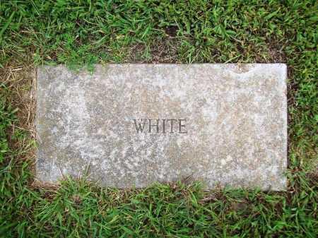 WHITE, UNKNOWN - Benton County, Arkansas | UNKNOWN WHITE - Arkansas Gravestone Photos