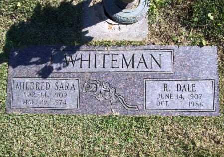 WHITEMAN, MILDRED SARA - Benton County, Arkansas | MILDRED SARA WHITEMAN - Arkansas Gravestone Photos
