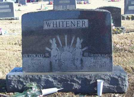 WHITENER, DARES A. - Benton County, Arkansas | DARES A. WHITENER - Arkansas Gravestone Photos