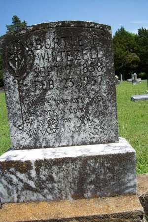 WHITEZELL, BURTLE T. - Benton County, Arkansas | BURTLE T. WHITEZELL - Arkansas Gravestone Photos