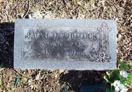 WHITLOCK, RALPH D. - Benton County, Arkansas   RALPH D. WHITLOCK - Arkansas Gravestone Photos
