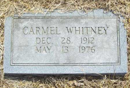 WHITNEY, WILLIAM CARMEL - Benton County, Arkansas | WILLIAM CARMEL WHITNEY - Arkansas Gravestone Photos