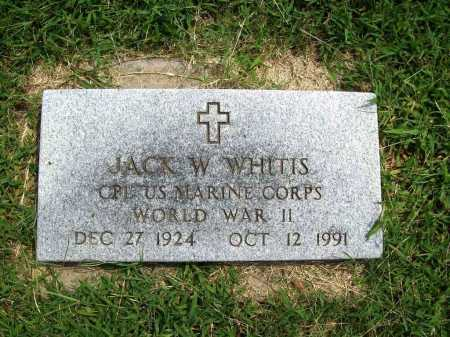 WHITTIS (VETERAN WWII), JACK W - Benton County, Arkansas | JACK W WHITTIS (VETERAN WWII) - Arkansas Gravestone Photos