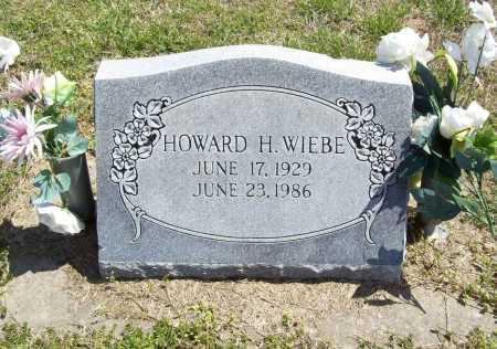 WIEBE, HOWARD H. - Benton County, Arkansas | HOWARD H. WIEBE - Arkansas Gravestone Photos