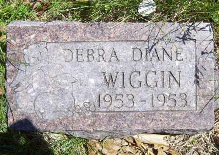 WIGGIN, DEBRA DIANE - Benton County, Arkansas | DEBRA DIANE WIGGIN - Arkansas Gravestone Photos