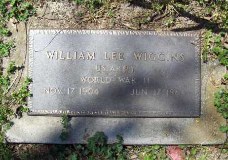 WIGGINS (VETERAN WWII), WILLIAM LEE - Benton County, Arkansas   WILLIAM LEE WIGGINS (VETERAN WWII) - Arkansas Gravestone Photos