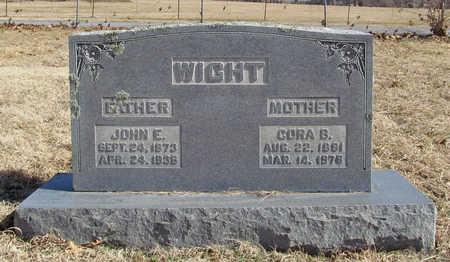 WIGHT, JOHN ELIAS - Benton County, Arkansas | JOHN ELIAS WIGHT - Arkansas Gravestone Photos
