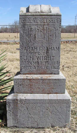 WIGHT, SARAH - Benton County, Arkansas | SARAH WIGHT - Arkansas Gravestone Photos