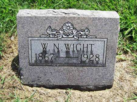 WIGHT, WILLIAM NELSON - Benton County, Arkansas | WILLIAM NELSON WIGHT - Arkansas Gravestone Photos