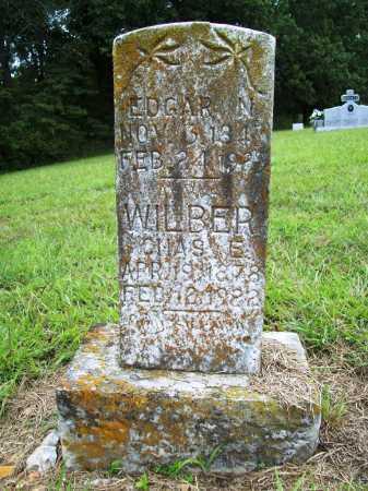 WILBER, EDGAR N. - Benton County, Arkansas | EDGAR N. WILBER - Arkansas Gravestone Photos