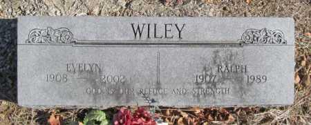 WILEY, EVELYN - Benton County, Arkansas | EVELYN WILEY - Arkansas Gravestone Photos