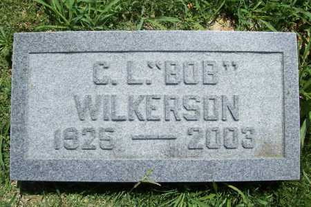 "WILKERSON, C. L. ""BOB"" - Benton County, Arkansas   C. L. ""BOB"" WILKERSON - Arkansas Gravestone Photos"