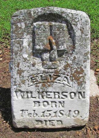 WILKERSON, ELIZA - Benton County, Arkansas | ELIZA WILKERSON - Arkansas Gravestone Photos