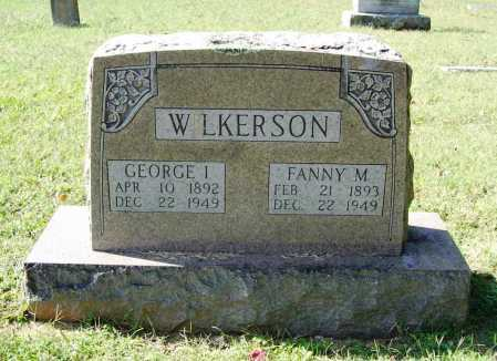WILKERSON, GEORGE I. - Benton County, Arkansas | GEORGE I. WILKERSON - Arkansas Gravestone Photos