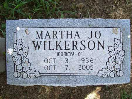 WILKERSON, MARTHA JO - Benton County, Arkansas | MARTHA JO WILKERSON - Arkansas Gravestone Photos