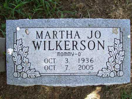 WILKERSON, MARTHA JO - Benton County, Arkansas | MARTHA JO WILKERSON - Arkansas Gravestone Photos