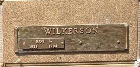 WILKERSON, ROY L. - Benton County, Arkansas | ROY L. WILKERSON - Arkansas Gravestone Photos