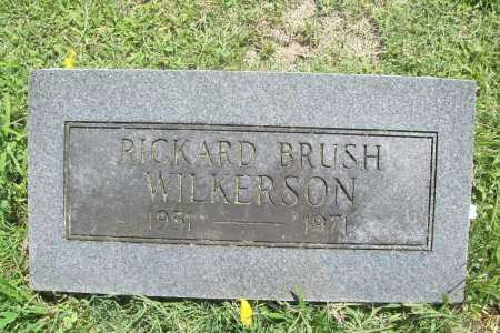 WILKERSON, RICHARD BRUSH - Benton County, Arkansas | RICHARD BRUSH WILKERSON - Arkansas Gravestone Photos