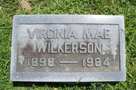WILKERSON, VIRGINIA MAE - Benton County, Arkansas | VIRGINIA MAE WILKERSON - Arkansas Gravestone Photos