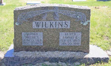 WILKINS, SAMUEL E - Benton County, Arkansas | SAMUEL E WILKINS - Arkansas Gravestone Photos