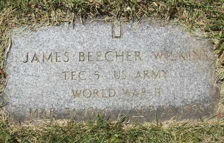 WILKINS (VETERAN WWII), JAMES BEECHER - Benton County, Arkansas | JAMES BEECHER WILKINS (VETERAN WWII) - Arkansas Gravestone Photos
