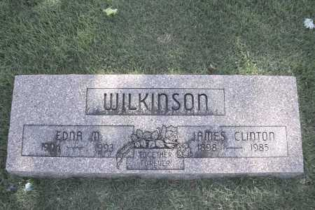 WILKINSON, EDNA M. - Benton County, Arkansas | EDNA M. WILKINSON - Arkansas Gravestone Photos