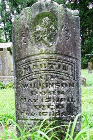 WILKINSON, MARTIN - Benton County, Arkansas   MARTIN WILKINSON - Arkansas Gravestone Photos