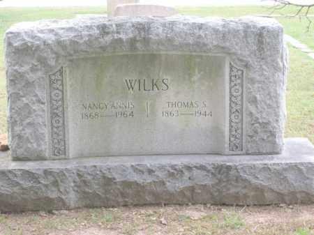 WILKS, THOMAS S. - Benton County, Arkansas   THOMAS S. WILKS - Arkansas Gravestone Photos
