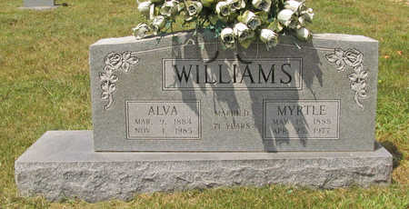 WILLIAMS, ALVA - Benton County, Arkansas | ALVA WILLIAMS - Arkansas Gravestone Photos