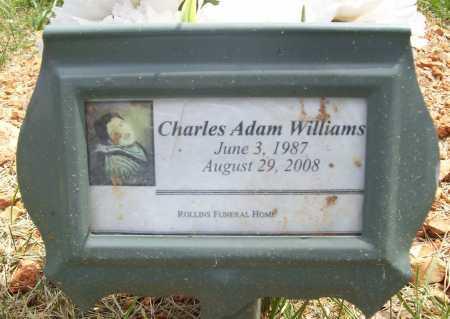 WILLIAMS, CHARLES ADAM - Benton County, Arkansas | CHARLES ADAM WILLIAMS - Arkansas Gravestone Photos