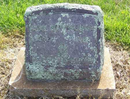 WILLIAMS, CARL REX - Benton County, Arkansas   CARL REX WILLIAMS - Arkansas Gravestone Photos