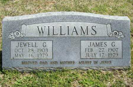 WILLIAMS, JAMES G. - Benton County, Arkansas | JAMES G. WILLIAMS - Arkansas Gravestone Photos
