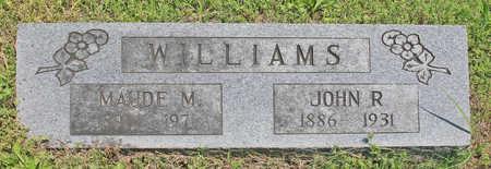 WILLIAMS, JOHN R - Benton County, Arkansas | JOHN R WILLIAMS - Arkansas Gravestone Photos