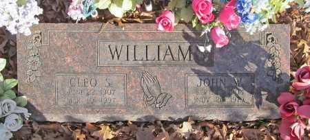 WILLIAMS, JOHN W. - Benton County, Arkansas   JOHN W. WILLIAMS - Arkansas Gravestone Photos