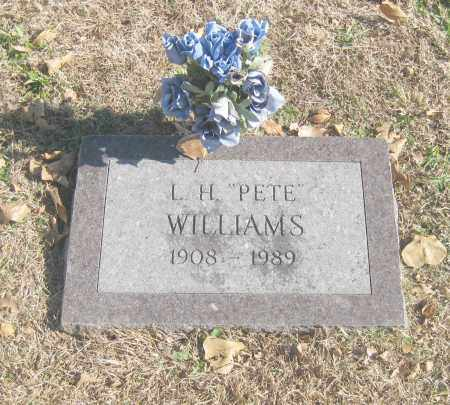 "WILLIAMS, L.H. ""PETE"" - Benton County, Arkansas | L.H. ""PETE"" WILLIAMS - Arkansas Gravestone Photos"