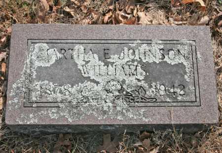 WILLIAMS, MARTHA E. - Benton County, Arkansas | MARTHA E. WILLIAMS - Arkansas Gravestone Photos